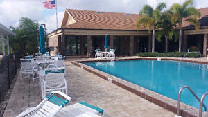 Port St. Lucie house in Florida, peaceful 55+ community