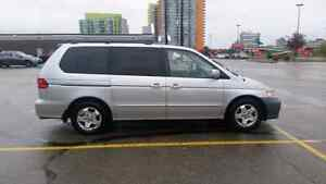 2000 HONDA ODYSSEY NEW WINTER TIRES AND BRAKES ONLY $1200