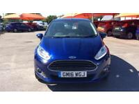2016 Ford Fiesta 1.25 82 Zetec (Nav) 5dr Manual Petrol Hatchback