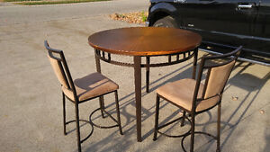 Unique Coppertop Table set. Windsor Region Ontario image 2