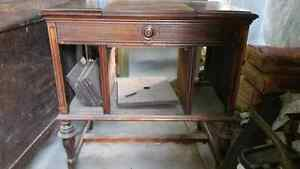 Antique record table