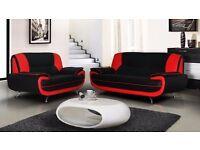 Attractive Design -High Quality Carol Sofa PU lEATHER 3 and 2 Sofa SUITE Set