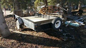 12' × 6' utility trailer for sale