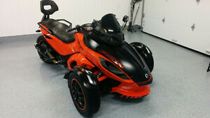 Can Am Spyder RSS  SM5  2012