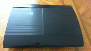 PS3 Super Slim 250GB With PS Move and 6 Games