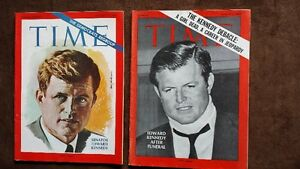 Lot#243- KENNEDY Mags 1968-69 Total of 5..Purging House Strathcona County Edmonton Area image 4