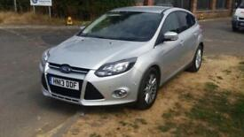 Ford Focus 1.6TDCi Titanium £20 Tax, 115bhp, Park Assist, 6 Speed Etc
