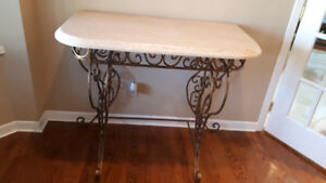 One of a kind Custom Made Stunning Console Table