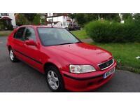 HONDA CIVIC S - 12 MONTHS MOT 2000 Auto 63761 Petrol Red Petrol Automatic