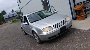 2001 Volkswagen Jetta 1.8T - 1200$ As Is Sale