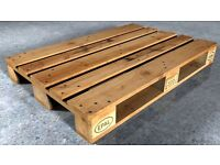 Wanted - Euro Pallets FREE.