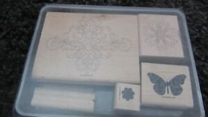 Stampin Up! Wooden Stamps
