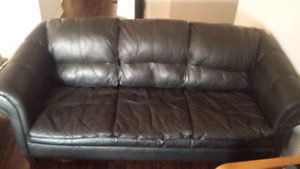 A DONNER! FREE! Leather Sofa 3 Place Couch - Divan canapé cuir