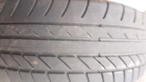 Two Continental  tires  like new