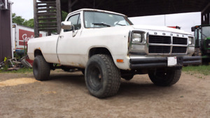 Wanted Lift Kit for my 92 Power Ram!