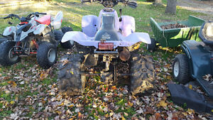 97 polaris scrambler 500 4x4 with ownership Windsor Region Ontario image 2