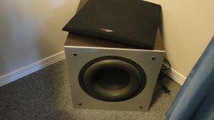 Polk Audio Powered Subwoofer and Surround Speakers