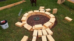 Fire Brick for sale make a fire pit or pizza oven