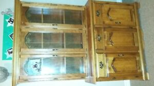 Solid Wood China Cabinet for Sale