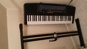Electric Organ and Stand