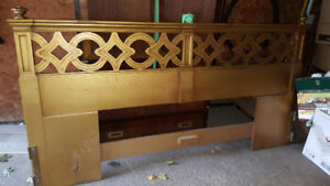 King Bed Oak Headboard