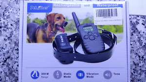 NEVER USED DOG TRAINING COLLAR