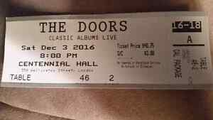 1 ticket  for Dec 3rd  London Ontario image 1