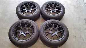 215/50R17 winter tires and rims for bmw