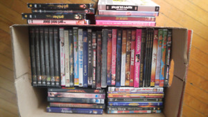 DVDs/workout DVDs