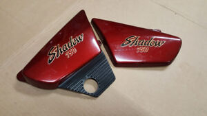 Side covers for a 750 Shadow  1983 - 1987