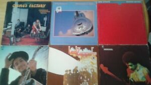 ROCK Vinyl LP Records