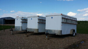 ELECTRICAL CONTRACTOR TOOLED STOCKED 6X12 TRAILERS