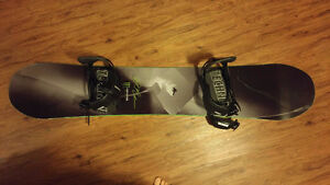 Snowboard with bindings for sale