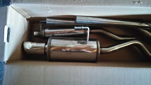 New 2001-2005 Civic Magnaflow Stainless cat back exhaust $425