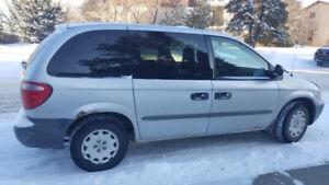 Dodge Caravan 2002 Low Kms!