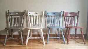 Cottage country chairs