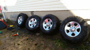 RAM POWER WAGON RIMS TIRES