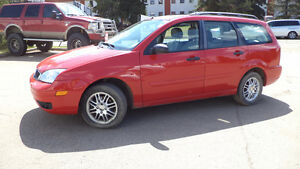 07 FOCUS - auto - LOADED - LEATHER - SUNROOF - ONLY 100,000KMS