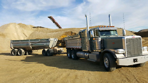 Experienced Class 1 gravel truck driver needed