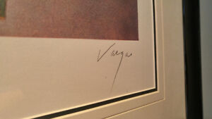 Vargas Signed and Numbered Lithograph Peterborough Peterborough Area image 3
