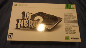 Selling DJ Hero 2 turntable for the xbox360