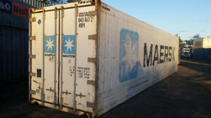 40' HC Reefer Freezer Insulated Shipping Container