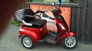 Mobility Electric Tricycles Range  70 Km + Lay Aways Storage Cornwall Ontario image 4