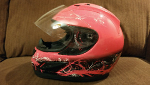 Full Face Youth Motorcycle Helmet - Small