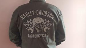 Mans  Nylon H-D jacket
