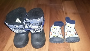 HUGE lot of boys footwear 3-9 winter/summer