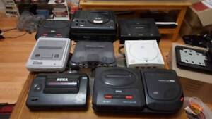 CASH PAID FOR -  OLD SEGA & NINTENDO GAMES AND CONSOLES
