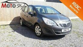Vauxhall/Opel Meriva 1.4 16v 2011 Exclusiv
