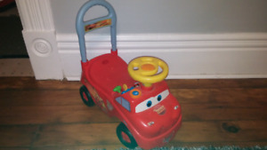 Lightning McQueen ride on toy