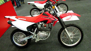Brand New 2014 Honda CRF150F For Sale